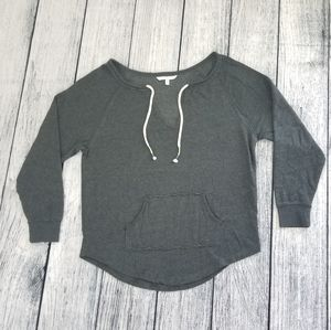 Victoria's Secret Dark Heathered Gray Sweatshirt